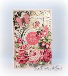 Kristi's Paper Creations: Some Anna Griffin Kit Cards To Share With You