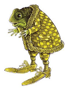 Frog by John Vernon Lord