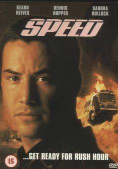 """Speed"" 1994, Keanu Reeves & Sandra Bullock"