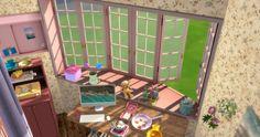 ✿Roli Cannoli CC Findz Corner✿ — sims-kkb: [KKB]Café Window&Door Set ... Cafe Window, Open Window, Sims Building, Door Sets, Windows And Doors, Cannoli, Frame, Corner, Home Decor