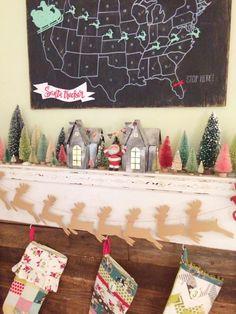 DIY Zinc Christmas V