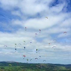 North South cup flying from the mynd