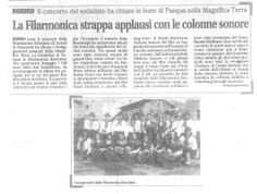 Filarmonica Bormiese, Pasqua 2013