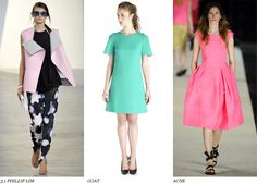 candy colored #dresses
