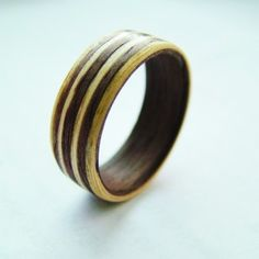 All that glitters is not gold  Stunning wooden jewellery created by Chris John