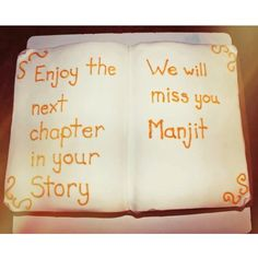 An amazing book cake to celebrate the retirement of our amazing librarian. These years have flown by Manjit, we will miss you! Goodbye Cake, Goodbye Party, Goodbye Gifts, Retirement Party Cakes, Retirement Gifts, Retirement Ideas, Retirement Sayings, Teacher Retirement, Going Away Cards