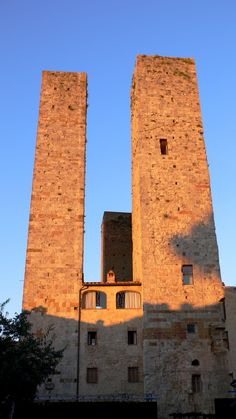 Towers in the Sunset, San Gimignano, Italy