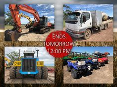 This auction is ending TOMORROW at pm‼️ This is your LAST CHANCE to bid on over lots of Harvesters, Tractors, Farming Assets, Transport, Earthmoving Equipment and a HUGE range of more farming and heavy equipment Harvester, Heavy Equipment, Civilization, Farming, Tractors, Transportation, Auction, Range, Cookers