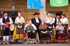 Traditional costumes of Leon, Spain