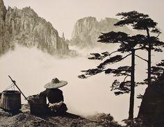 Baskets and Woman, China.  by Don Hong-Oai