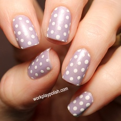 Zoya Julie with Purity Dots (work / play / polish)
