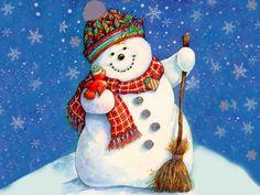 Christmas snowman `✿.¸¸.Ƹ✿Ʒ.¸¸.✿´