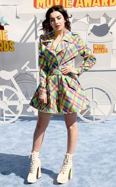 cd2696abaec MTV Movie Awards 2015. Charli XCX. Once again she shows off her wacky style