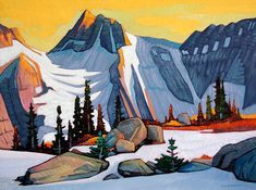 Sneak Preview of New works by Nicholas Bott in preparation for October 2016 Exhibition at Mountain Galleries' Banff location.