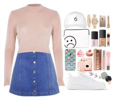 """""""♡ 679 bby ♡"""" by canunotgurl ❤ liked on Polyvore featuring Topshop, River Island, Skinnydip, Marc by Marc Jacobs, NIKE, NARS Cosmetics, October's Very Own, Nasty Gal, Michael Kors and Urban Decay"""