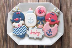 (4) Loved the color palette for these cuties! - Clough'D 9 Cookies & Sweets