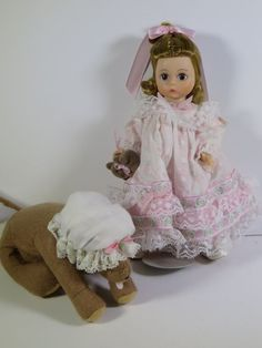 MADAME ALEXANDER DOLL 8 INCHES WENDY WITH BEARS in Dolls & Bears | eBay