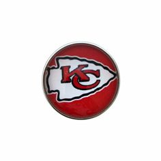 #5160 Kansas City Snap Charm 20mm for Snap Jewelry