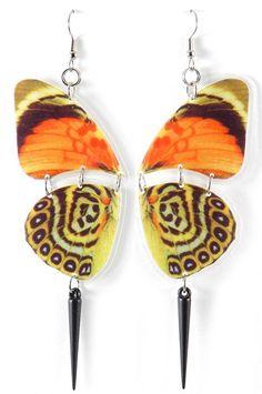Beautiful Butterfly Earrings <3