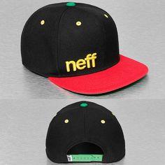 NEFF Snapback Cap schwarz