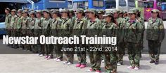 Newstar Outdoor Outreach Training in June 2014