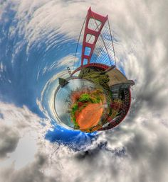 Golden Gate Planet Marin Side by Josh Sommers, via Flickr