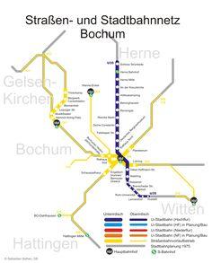 #Bochum è una città della Renania Settentrionale-Vestfalia e si trova nella parte est della Valle della Ruhr, tra Essen e Dortmund. Il trasporto pubblico, conosciuto come Stadtbahn di Bochum comprende treno, #metropolitana, tram e autobus.