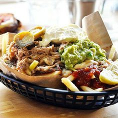 Our classic Pulled Pork Fries! This deliciously fantastic photo is by the…