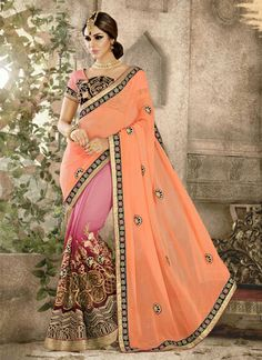 http://www.sareesaga.com/index.php?route=product/product&product_id=41884 Style:Designer Saree Shipping Time:10 to 12 Days Occasion:Wedding Festival Reception Fabric:Georgette Colour:Orange Pink Work:Embroidered Patch Border Work Customer Support : +91-7285038915, +91-7405449283