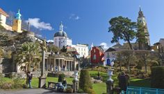 ART and ARCHITECTURE, mainly: Portmeirion, Wales - a delight for all
