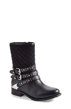 Stuart Weitzman 'Selma Kristi' Boot (Toddler, Little Kid & Big Kid) (Online Only) available at #Nordstrom