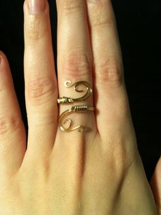 Upper Finger Ring Diy Via A Fabulous Fete Jewelry Envy - Cute diy wire rings for middle phalanges