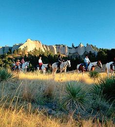 Explore wide-open landscapes and check out Omaha's cool new vibe. Fort Robinson State Park.