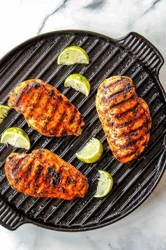 Fiesta Lime Chicken with Avocado Salsa - Carlsbad Cravings
