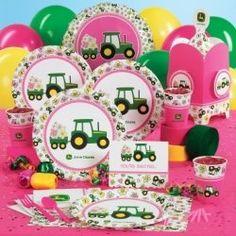 John Deere Girl Party Supplies