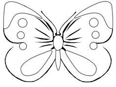 Omalovánky motýlci | i-creative.cz - Kreativní online magazín a omalovánky k vytisknutí
