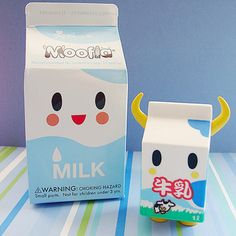 cute tokidoki milk toy