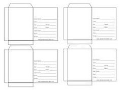 Seed Packet Templates Editable Make Your Own Seed Packets - Seed packet template
