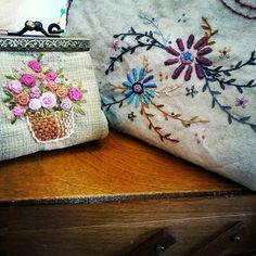 #embroidery#stitch#needlework  #프랑스자수#일산프랑스자수#자수 #엔틱느낌이. . .