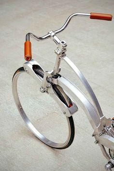 The Sada Bike - A Folding, Hubless Bicycle | HUH.