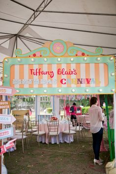 Tiffany's Dainty Carnival Themed Party – Venue