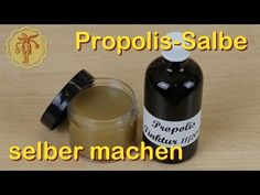 Propolis Salbe selber machen - YouTube