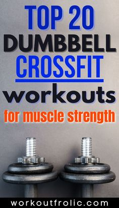 Check out this extensive list of 20 Dumbbell Crossfit Workouts that will help you boost your endurance and build your strength like never before! Functional Workouts, Crossfit, Strength, Health, Fitness, Check, Top, Health Care, Crop Shirt
