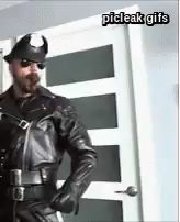 Gay Leather Fuckers — picleakfan: click 4 more SamuelColt So. Leather Fashion, Leather Men, Leather Jacket, Men's Fashion, Man Smoking, Cigar Smoking, Men Smoking Cigarettes, Hot Beards, Cigar Men
