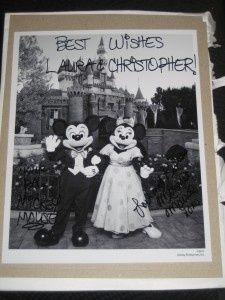 Extra invites?  Send them to:   The Honorable Barack Obama and Mrs. Obama  The White House  Greetings Office Room 39  1600 Pennsylvania Avenue  Washington, DC 20500    Cinderella and Prince Charming  The Magic Kingdom  1675 N Buena Vista Drive  Lake Buena Vista, FL 32830    Mickey and Minnie Mouse  The Walt Disney Company  500 South Buena Vista Street  Burbank, California 91521 We got back something from everyone...even if the Obama one said Happy Anniversary :)