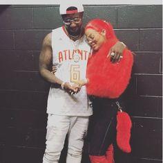 Gucci Mane Proposes To Keyshia Ka'oir At Atlanta Hawks Basketball Game [VIDEO] (via hotnewhiphop.com) The Atlanta rapper Gucci Mane LaFare took a big step last