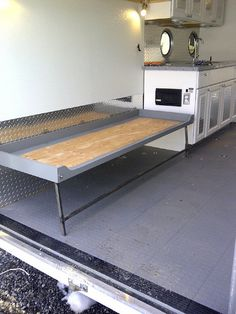 Custom Cabinets I Built To Fit The Front Of My 7x16 Cargo