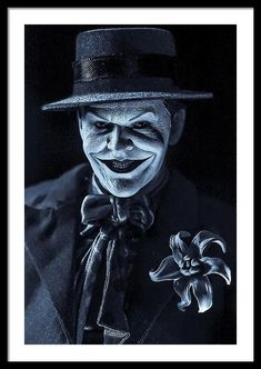 "Call Me Joker Bw framed print by Jeremy Guerin. Bring your print to life with hundreds of different frame and mat combinations. Our framed prints are assembled, packaged, and shipped by our expert framing staff and delivered ""ready to hang"" with pre-attached hanging wire, mounting hooks, and nails. #thejoker #blackandwhite #wallart #framedart #giftideas #movieroomdecor Framed Art, Framed Prints, Wall Art, Black And White Artwork, Joker Art, Toys Photography, Tim Burton, Hanging Wire, Call Me"