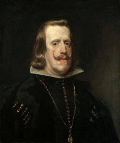 Diego Velazquez, Portrait of Philip IV, 1656