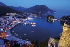 Parga by night, Epirus, Greece Places Around The World, Around The Worlds, Places To Travel, Places To Visit, Just Like Heaven, Greece Hotels, Greece Holiday, Greece Islands, Travel Abroad